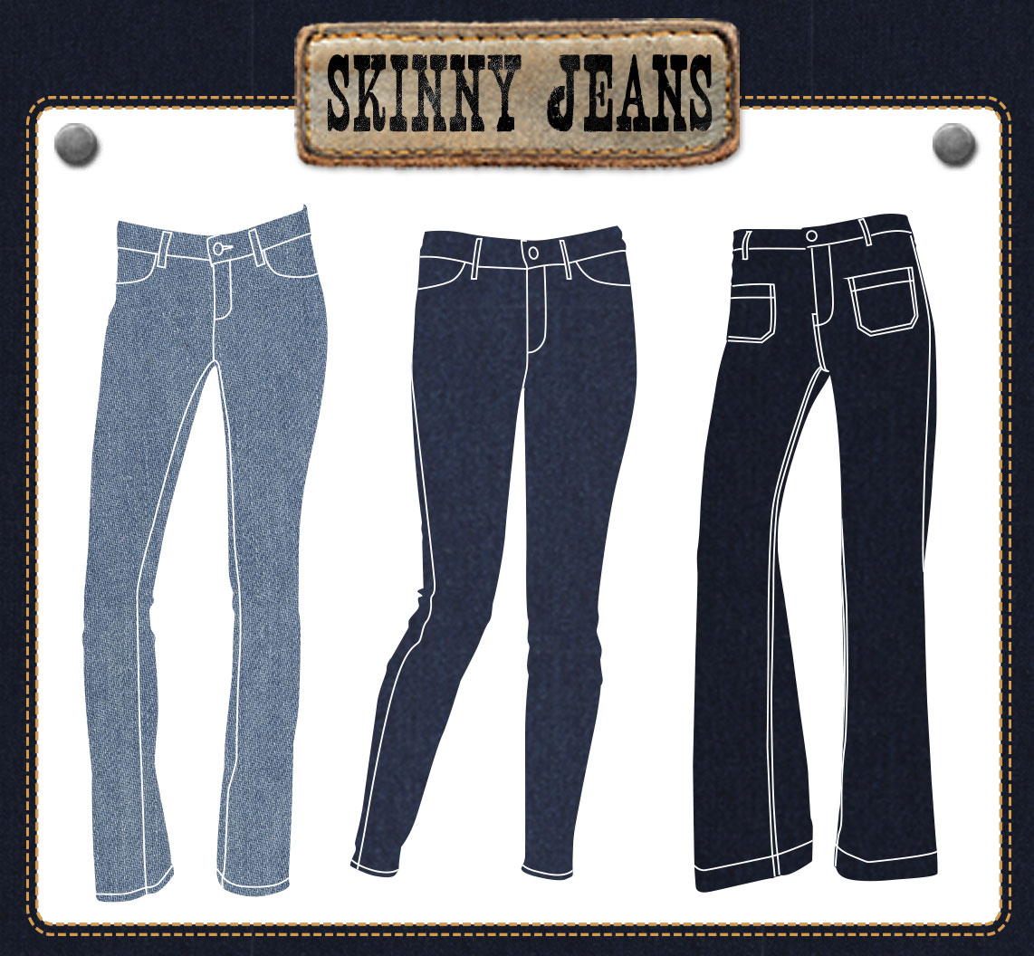 skinny jean iphone application